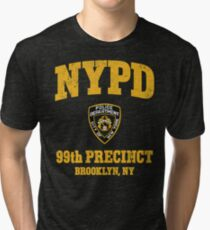 99th Precinct - Brooklyn NY Tri-blend T-Shirt
