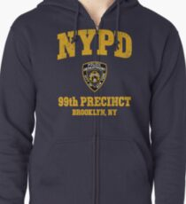 99th Precinct - Brooklyn NY Zipped Hoodie