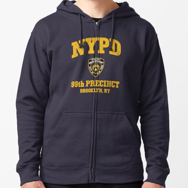 99e enceinte - Brooklyn NY Veste zippée à capuche