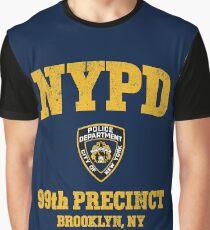 99th Precinct - Brooklyn NY Graphic T-Shirt