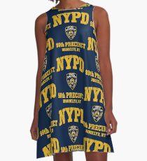 99. Bezirk - Brooklyn NY A-Linien Kleid