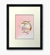 My Little Mouse Framed Print