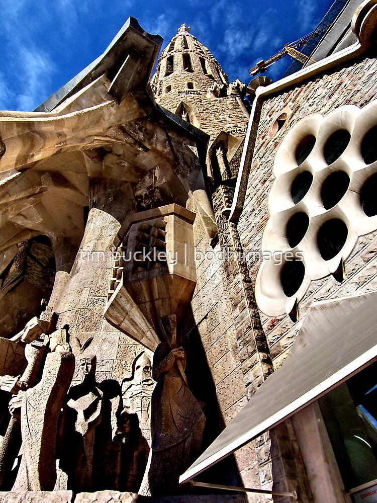 steeple. barcelona, spain by tim buckley | bodhiimages