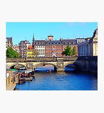 """Beautiful Copenhagen"", Photo / Digital Painting Photographic Print"
