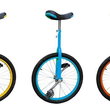 Unicycles by harrizon