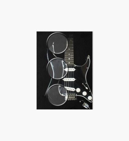 magnify my guitar 2 Art Board