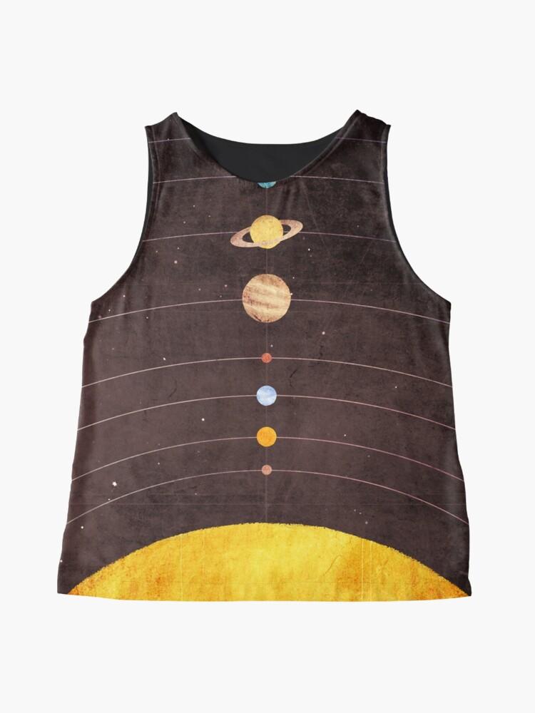 Alternate view of Solar System Sleeveless Top