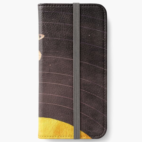Solar System iPhone Wallet