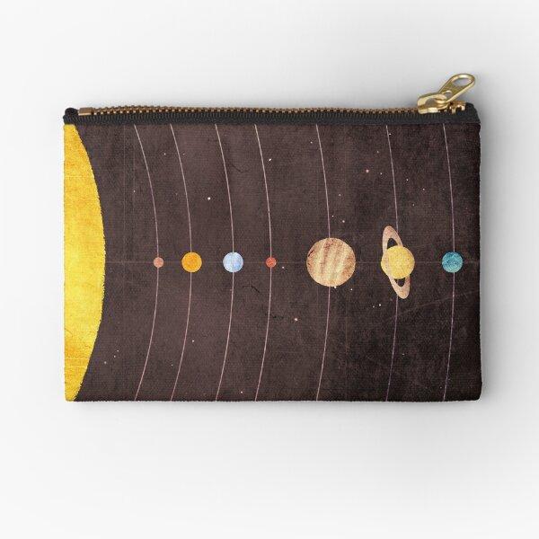 Solar System Zipper Pouch