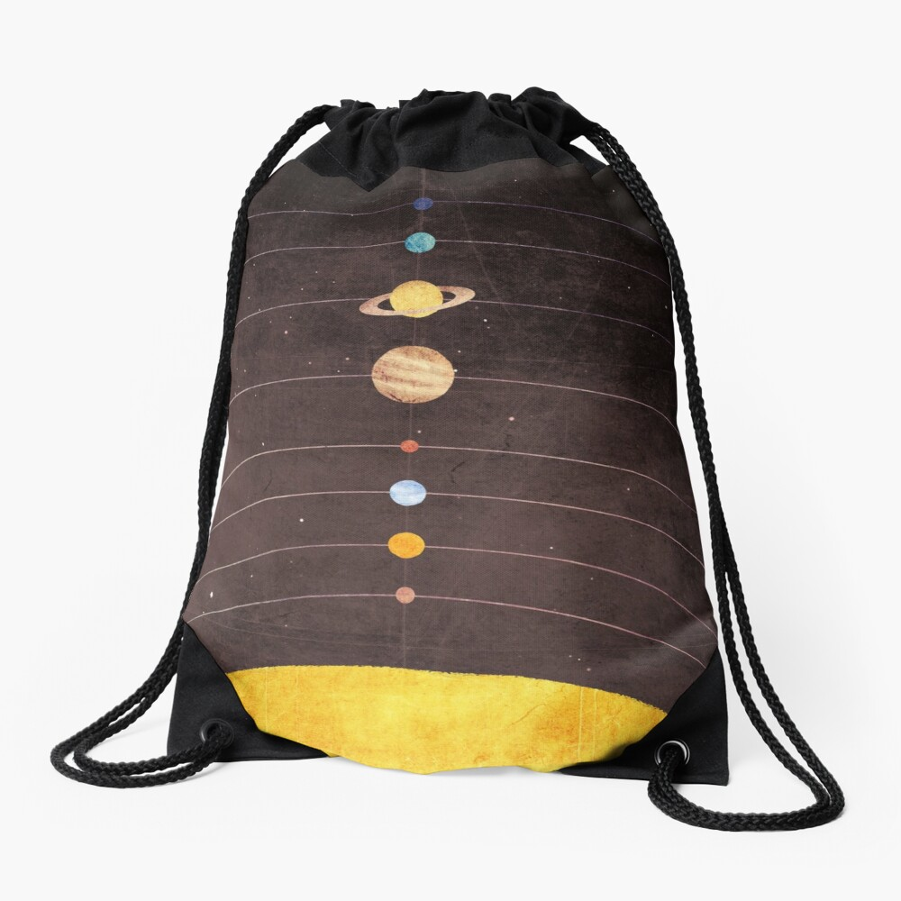 Solar System Drawstring Bag