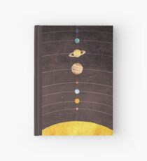 Solar System Hardcover Journal