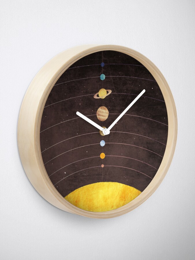 Alternate view of Solar System Clock