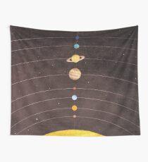 Sonnensystem Wandbehang