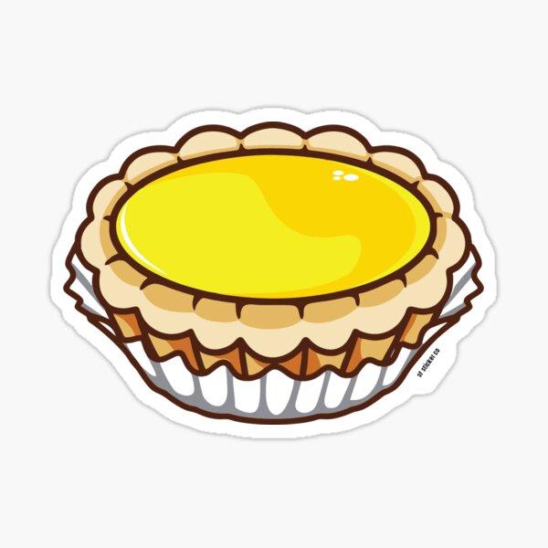 Egg Tart Dim Sum Sticker