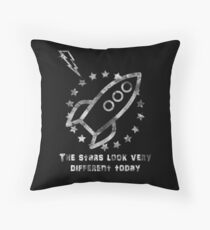 the stars look very different today Throw Pillow