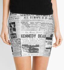 Newsprint 1 Mini Skirt