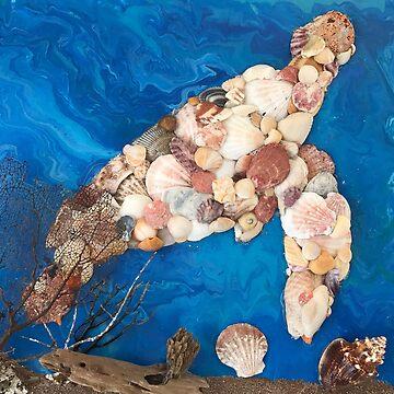 Turtle Shell Art  by vwells