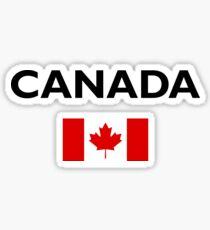 Canada Canadian Flag Color Light Sticker