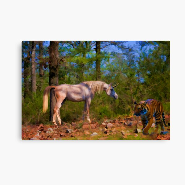 Just Passing Through Canvas Print