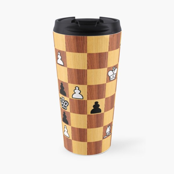 #chessproblem #chess #problem #playchess chesspiece chessset chessmaster chinesechess Travel Mug