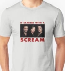 It Started With A Scream Unisex T-Shirt