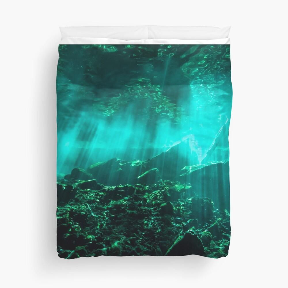 Gran Cenote Duvet Cover