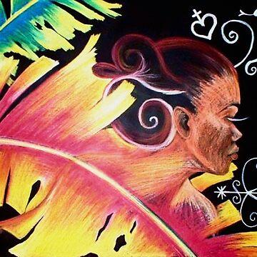 Fire - Haitian Island Spirits 01 by nazaire