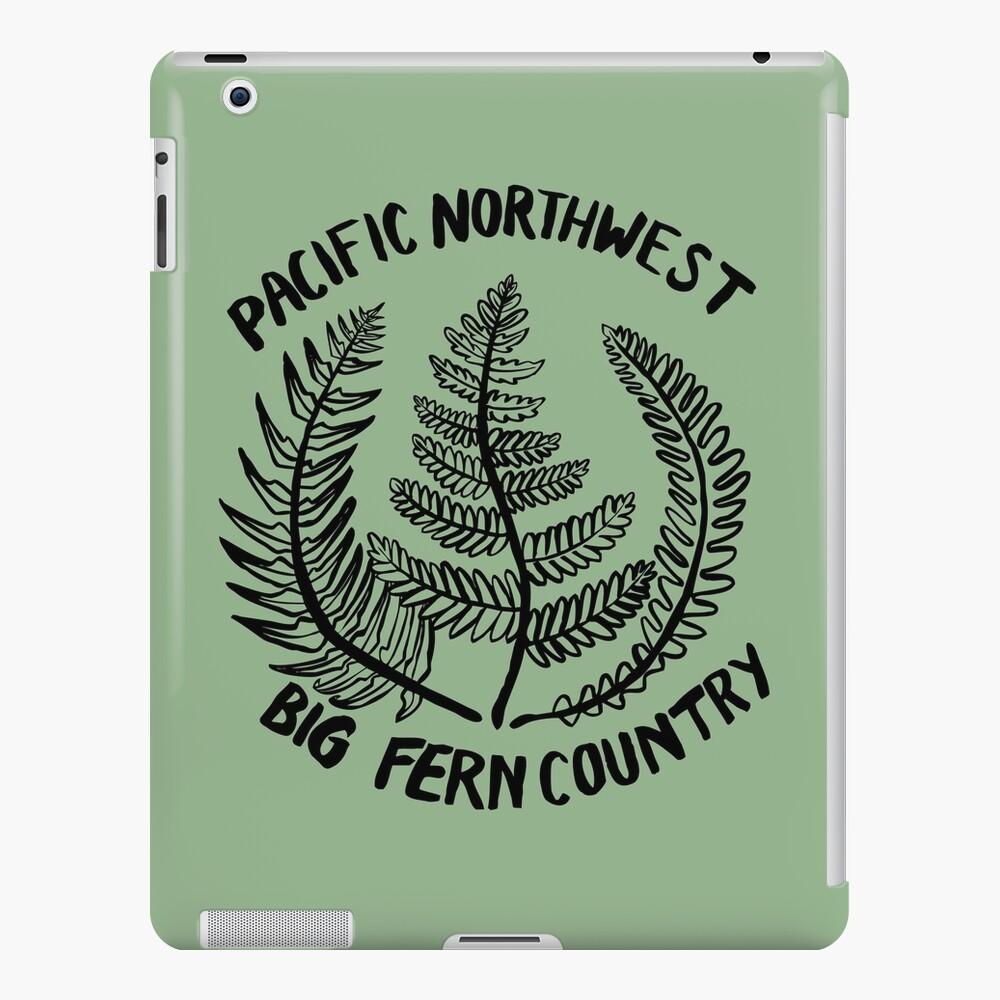 Pacific Northwest | Big Fern Country iPad Case & Skin