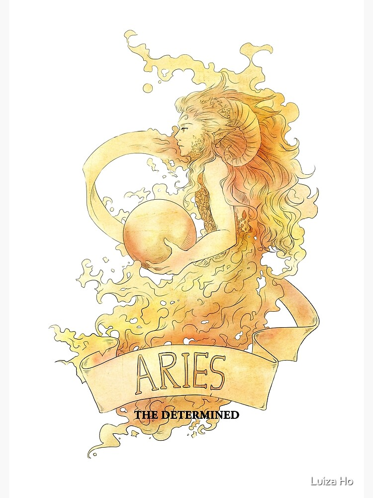 Aries, The Determined by teapotsandhats