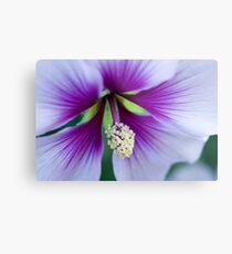 Purple Effusion Metal Print