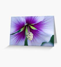 Purple Effusion Greeting Card