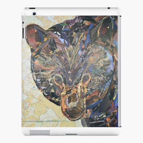 Black Bear Collage by C.E. White iPad Snap Case