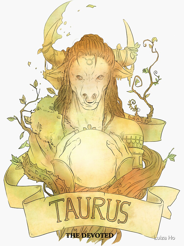 Taurus, The Devoted by teapotsandhats