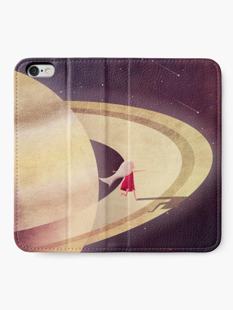 Alternative Ansicht von Saturn Kind iPhone Flip-Case