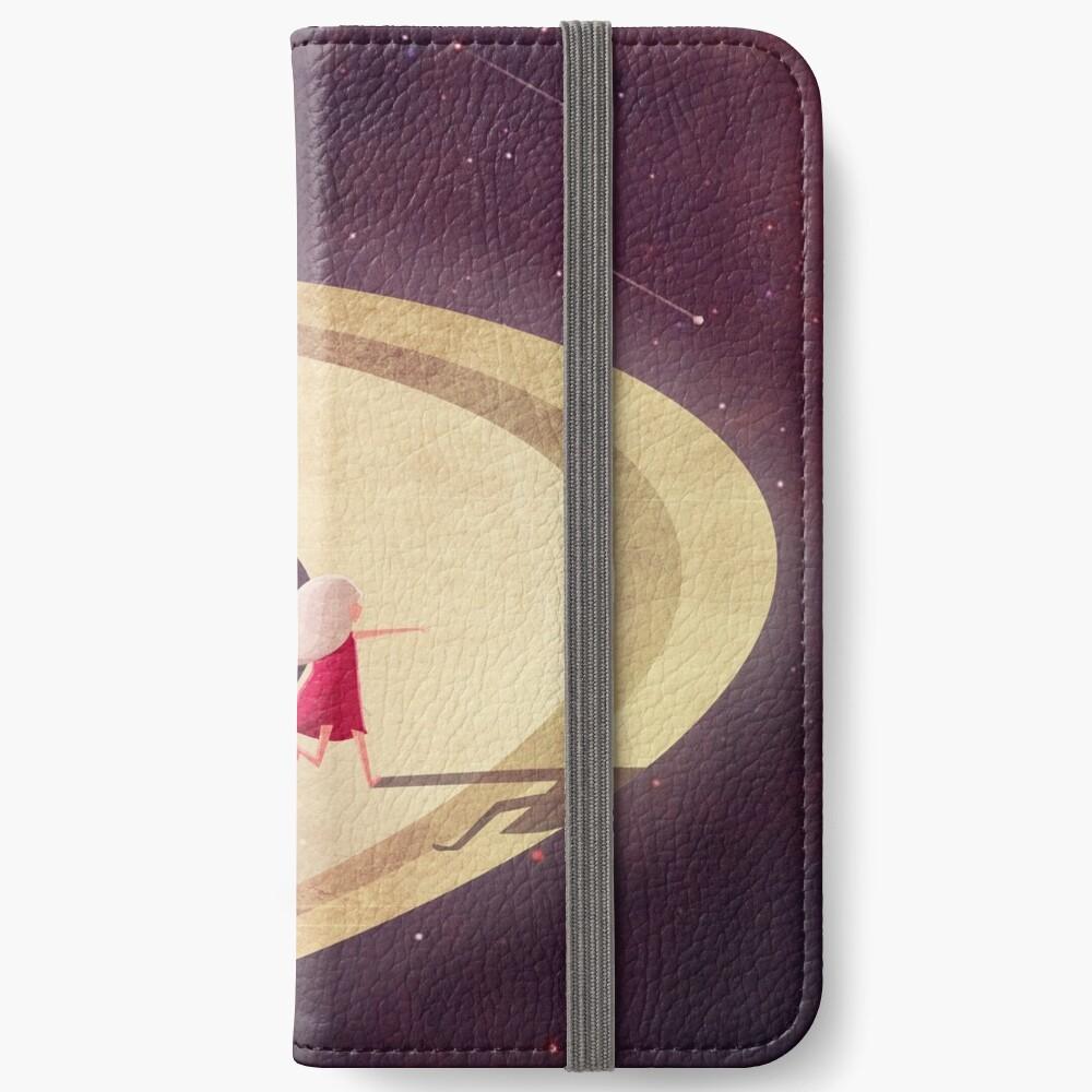 Saturn Kind iPhone Flip-Case