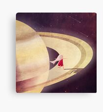 Saturn Child Canvas Print