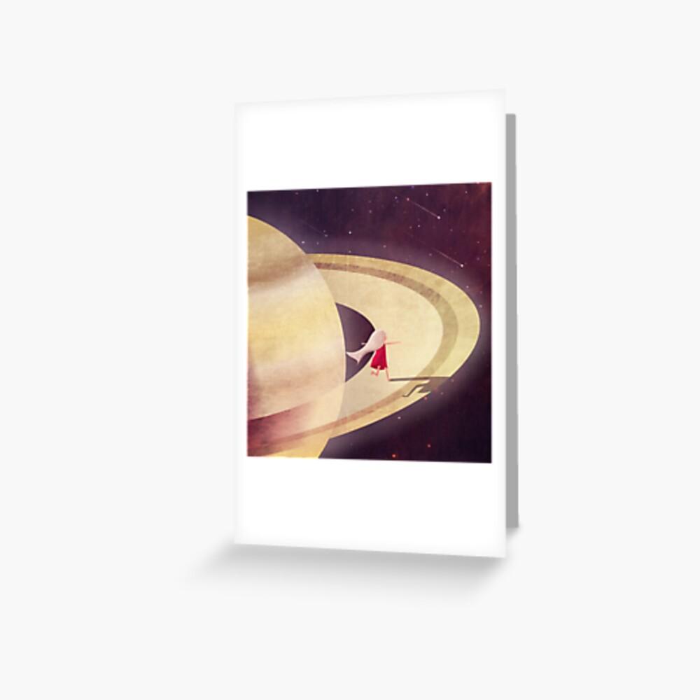 Saturn Child Greeting Card