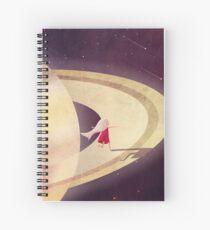 Saturn Child Spiral Notebook