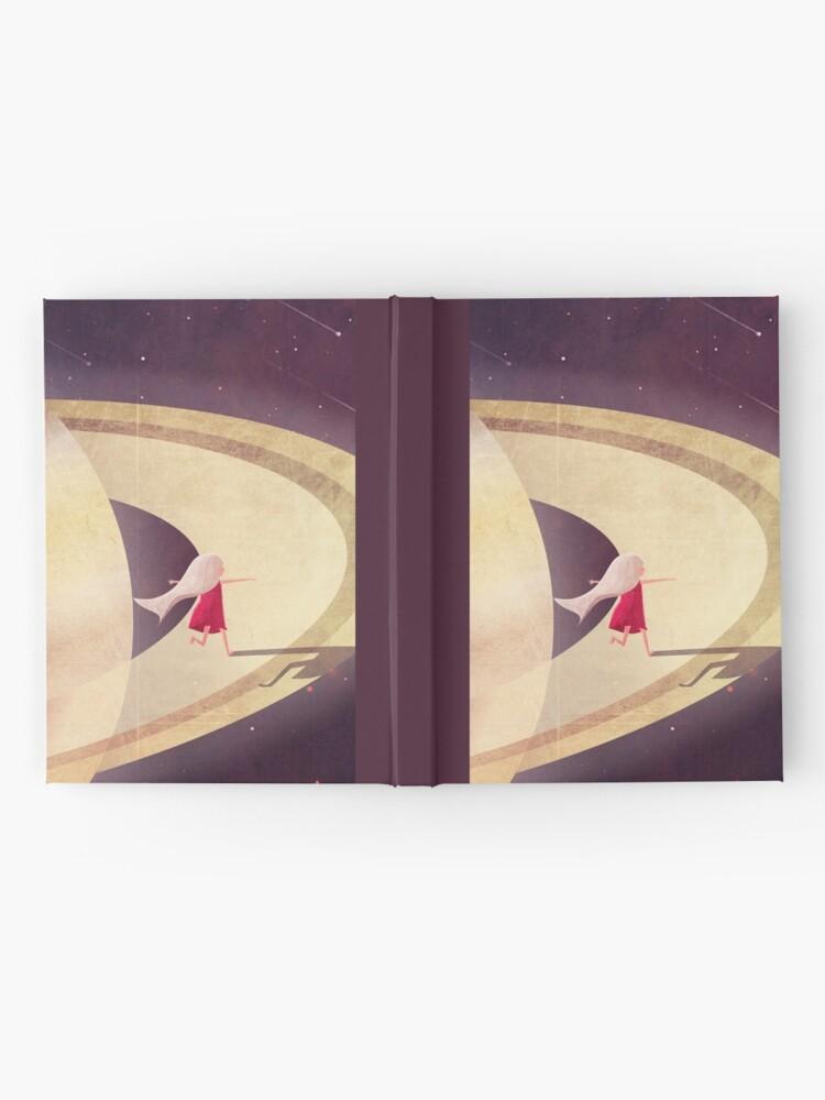 Alternative Ansicht von Saturn Kind Notizbuch