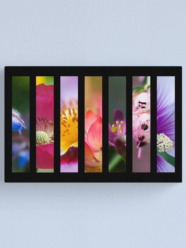Alternate view of Perennial Bounty Canvas Print