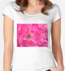 """Pink's Romance"", Photo Artwork Women's Fitted Scoop T-Shirt"