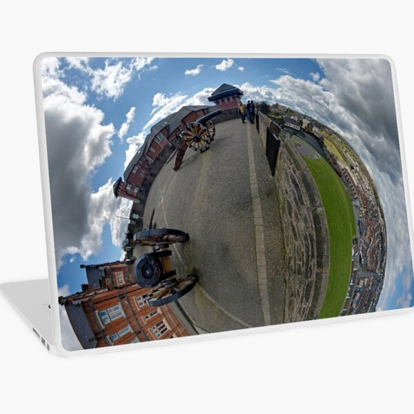 Verbal Arts Centre on the Walls of Derry Laptop Skin
