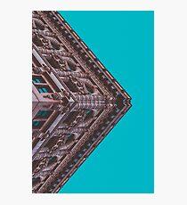 Angled Photographic Print