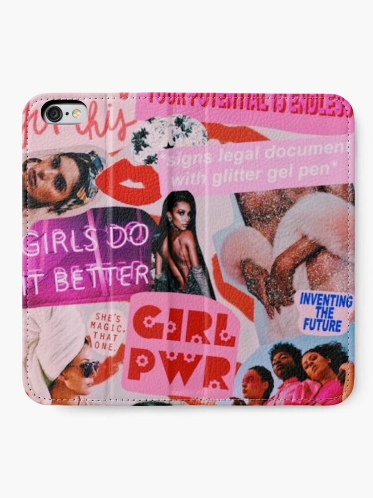 Alternative Ansicht von Mädchen Mode iPhone Flip-Case