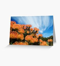 Incandescent Heights Greeting Card