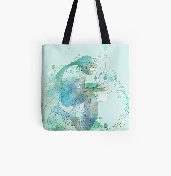 Cancer, The Tenacious All Over Print Tote Bag