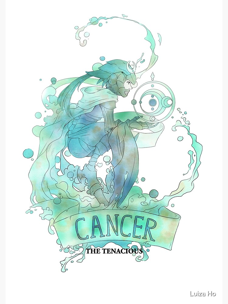 Cancer, The Tenacious by teapotsandhats