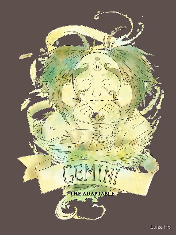 Gemini, The Adaptable by teapotsandhats
