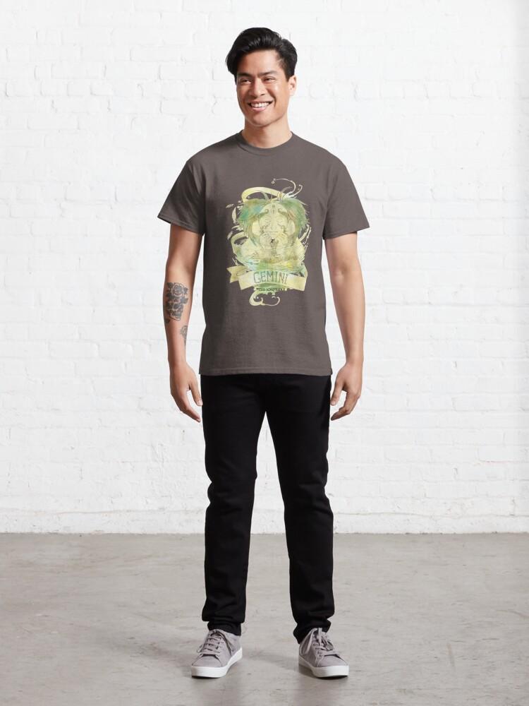 Alternate view of Gemini, The Adaptable Classic T-Shirt