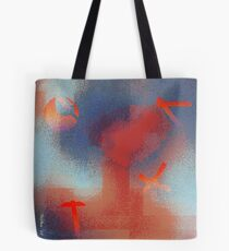 Crucifixion by collective agreement Tote Bag
